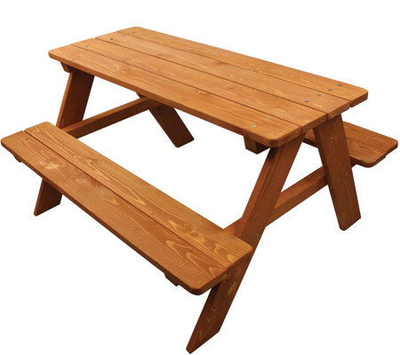 Homeware Wood Kids Picnic Table
