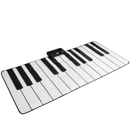 """As Is"" FAO Schwarz Piano Dance Mat with Built in Songs"