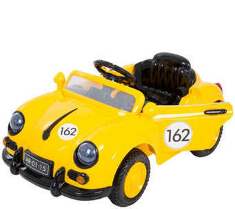 Lil' Rider '58 Yellow Speedy Sportster BatteryOp Car w/Remote - T127679