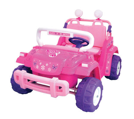 12V Surfer Girl  Battery Operated Ride-On