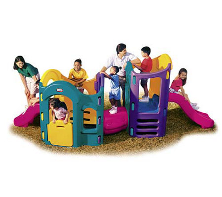 Little tikes 8 in 1 adjustable playground for Little tikes 8 in 1