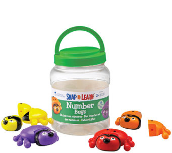 Snap-n-Learn Number Bugs by Learning Resources - T123381