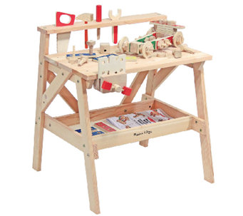 Melissa & Doug Wooden Project Workbench - T127381