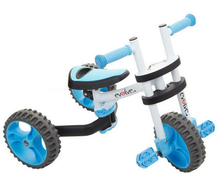 Y Bike Evolve 3 In 1 Trike Balance Bike With Adjustable Seat