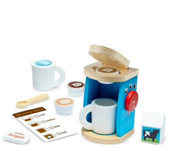 Melissa & Doug Wooden Brew & Serve Coffee Set - T127783