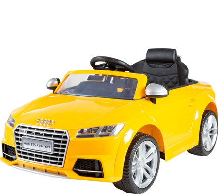 Lil' Rider Audi TTS Roadster 6V Battery-PoweredRide-on Car