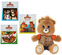 Teddy Ruxpin Animated Storytelling Bear with 3 Books - T34884