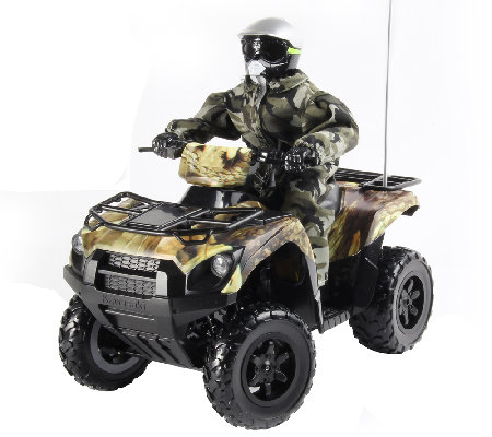 KidzTech 1:6 Scale RC Kawasaki Brute Force 750Quad in Camo