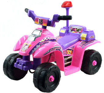 Lil' Rider Princess 4 Wheel Mini ATV 6V Ride-On - T127187
