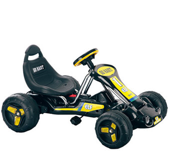 Lil' Rider Black Stealth Pedal Powered Go-Kart - T127387