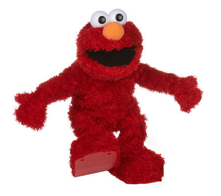 Fisher-Price Sesame Street Elmo Live Interactive Talking Plush