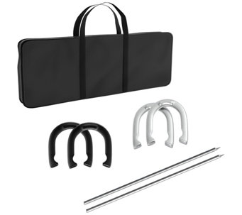Trademark Games Professional Heavy Duty Horseshoe Set - T127389