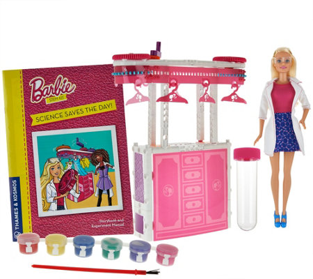 Barbie Dream House Science Kit w/ 10 Experiments & Doll