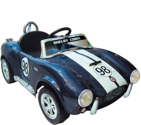 Kidz Motorz Limited Edition Blue Shelby Cobra One-Seat Ride-O
