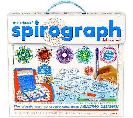 The Original Spirograph Deluxe Set With Bonus Coloring
