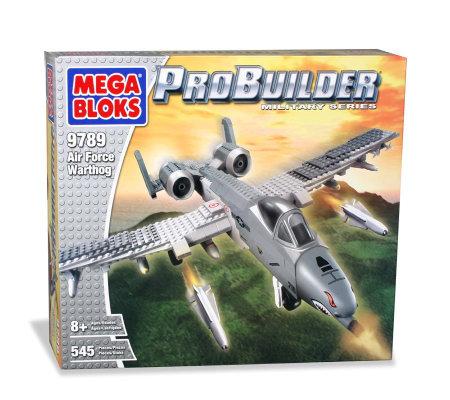 Mega Bloks Probuilder Military Series Air Force Warthog