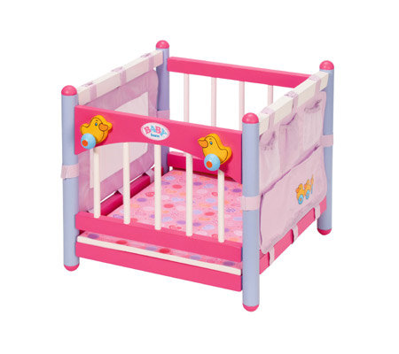 Baby Born Wooden Changing Table And Playpen Combo