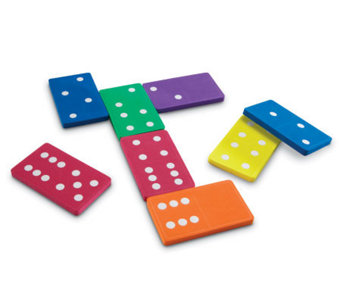 Jumbo Foam Dominoes by Learning Resources - T119193