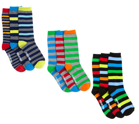 little missmatched 3-pack Mens Miss Matched Sock Collection