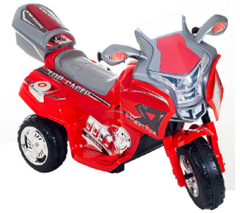 Lil' Rider Top Racer Sport Bike 6V Ride-On - T127193