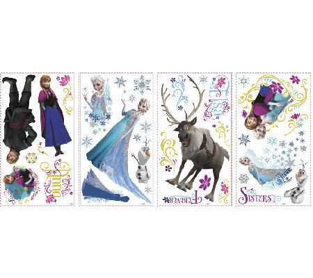 Disney's Frozen Peel & Stick Wall Decals