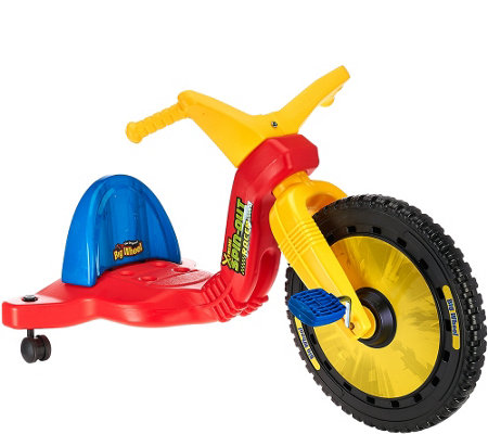 "Big Wheels 16"" Spin Out Racer w/ Caster Wheels"