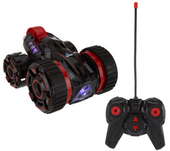 Transforming RC Car with LED Lights and 360 Degree Spin Feature - T34393