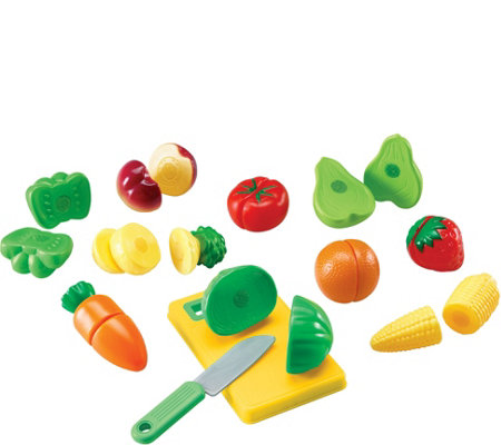 Pretend & Play Sliceable Fruits/Veggies by Learning Resources