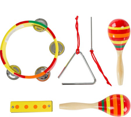Hey! Play! Kids Percussion Musical InstrumentsToy Set