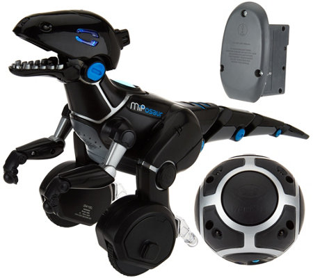 Miposaur Robotic Dinosaur w/ Charge Pack By: WowWee