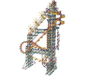 K'Nex Thrill Rides Factory Building Set - T127597