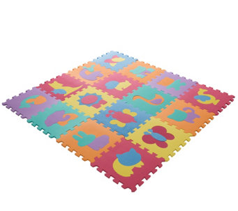 Hey! Play! Foam Floor Animal Puzzle LearningMat - T127797