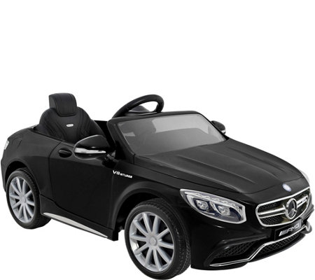 Kid Motorz Mercedes Benz S63 AMG One-Seat Ride-On