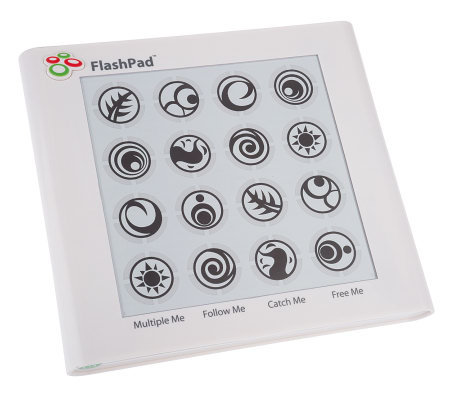 FlashPad Touchscreen Electronic Handheld Game w/Light & Sound