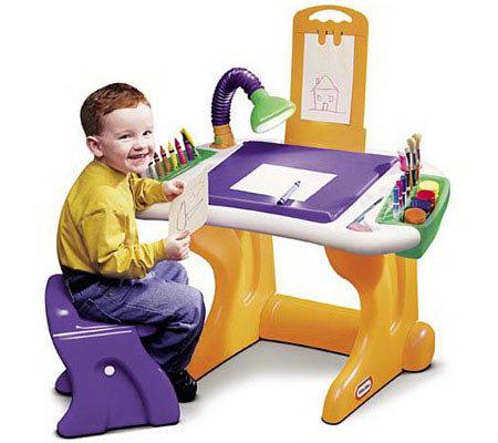 Little Tikes Studio Design Art Desk — QVC