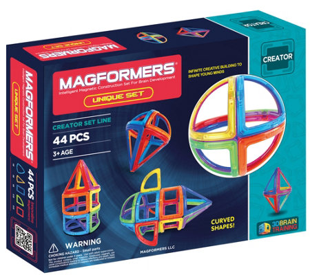 Magformers Unique 44-Piece Set