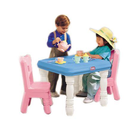 sc 1 st  QVC.com & Little Tikes Tender Heart Table \u0026 Chair Set \u2014 QVC.com