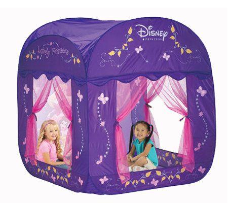 sc 1 st  QVC.com & Playhut Disney Princess Canopy Castle u2014 QVC.com