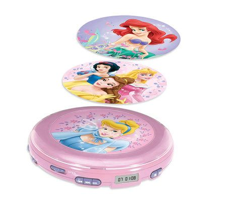 Disney Princess Personal CD Player QVCcom