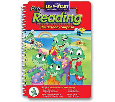 LeapFrog LeapStart Book The Birthday Surprise QVC