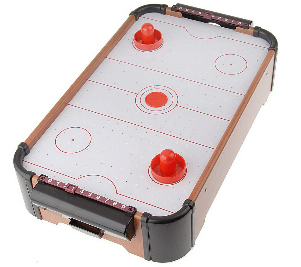 Choice of Air Hockey Soccer or Pool Table Top Arcade Games Page
