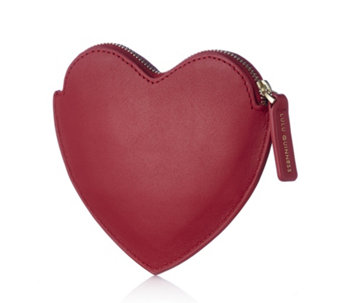 Lulu Guinness Small Heart Leather Coin Purse - 164200