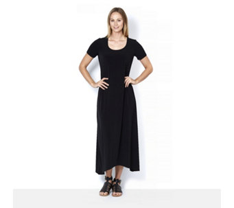 Kim & Co Brazil Knit High Low Hem Maxi Dress Regular Length - 164500