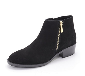 Emu Mid Rise Collection Acton Suede Ankle Boots - 165701