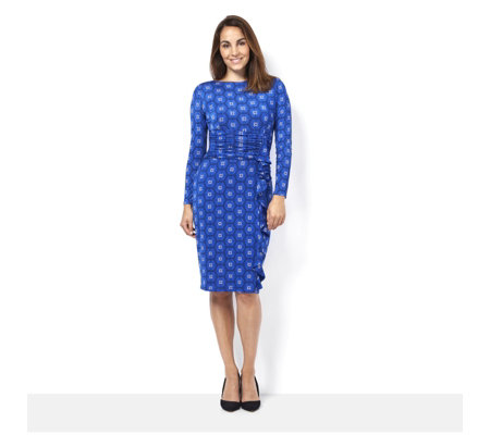Lola Long Sleeve Dress by Onjenu London