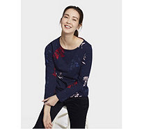 Joules Harbour Printed Jersey Top - 169003