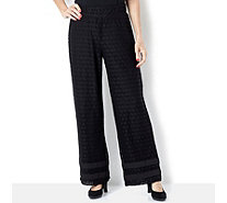 Isaac Mizrahi Live Lace Trousers - 159404