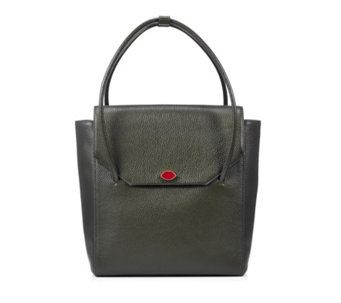 Lulu Guinness Large Eloise Grainy Leather Tote Bag - 160704