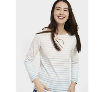 Joules Harbour Ombre Stripe Jersey Top - 169004