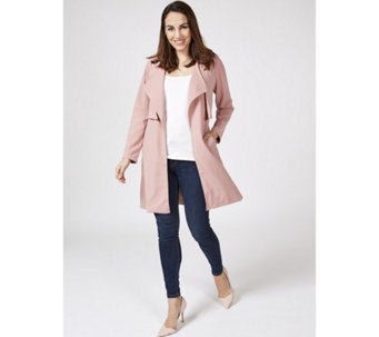 Long Sleeve Duster Jacket by Nina Leonard - 169504